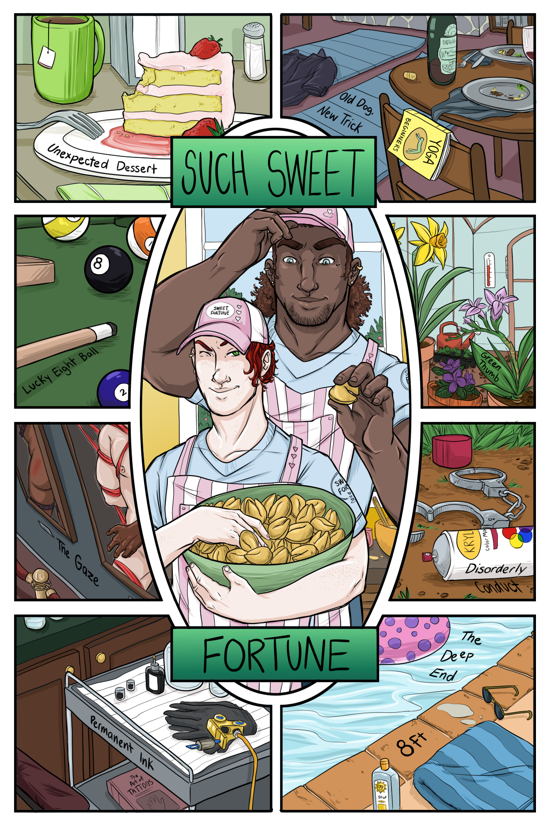 Such Sweet Fortune: A Collection of Lover's Tales